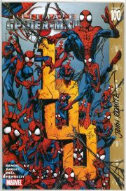 Ultimate Spider-man #100 Dynamic Forces Signed John Romita Sr DF COA Ltd 570 Marvel comic book
